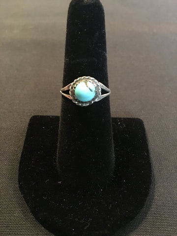 Vintage Turquoise and Silver Ring