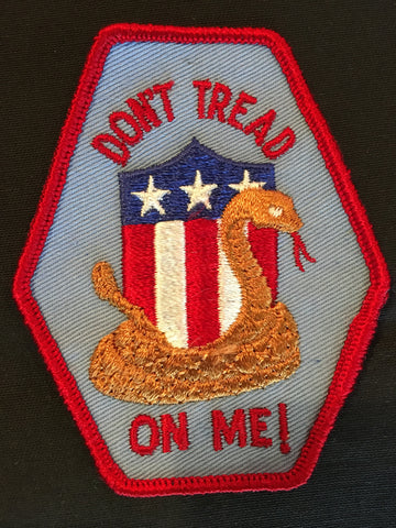 Don't Tread On Me Sew on Patch