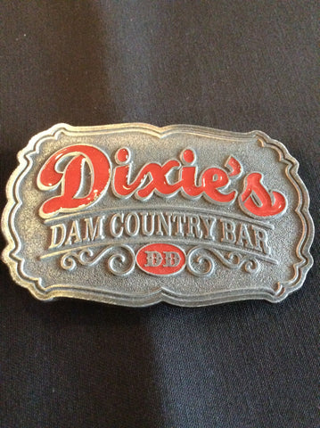 Dixie's Damn Country Bar Belt Buckle