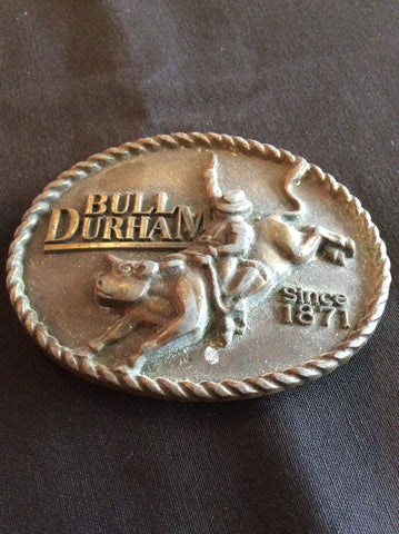 Bull Durham Belt Buckle