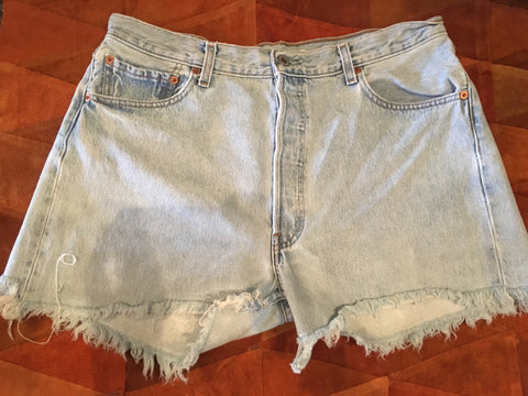Vintage Levi's Denim 501 Cutoffs
