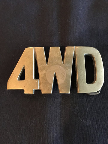 4WD Belt Buckle
