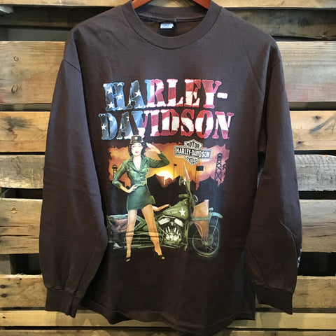 Harley-Davidson Long Dleeve Army Tee