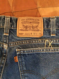 Vintage Levi's Orange Tab 505 32x 29 Denim Jeans