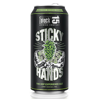 Can 4-Pack - Block 15 - Sticky Hands