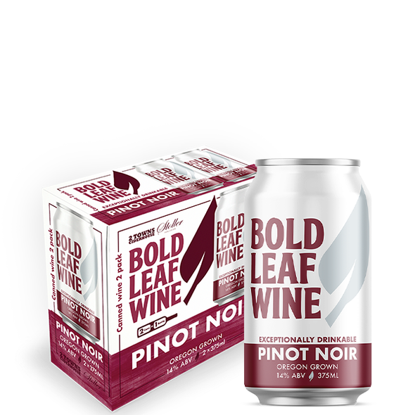 Can 2-Pack - Bold Leaf - Pinot Noir