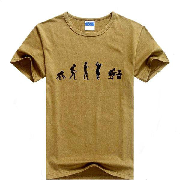 Men's T Shirt Evolution