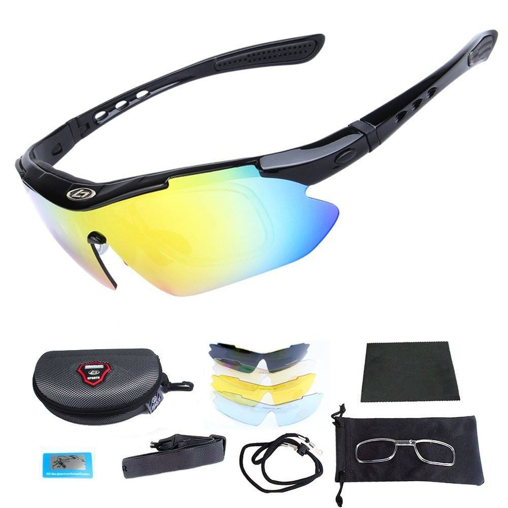 Outdoor Sports Sunglasses with Case