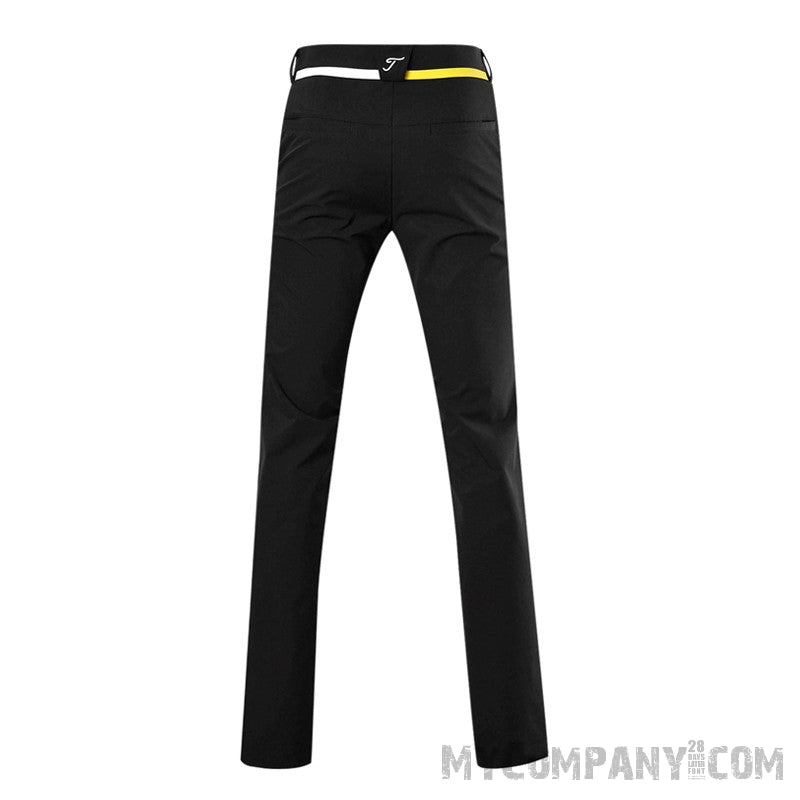 men,s golf trousers quick dry