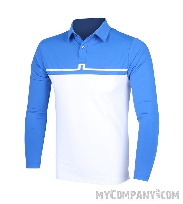 Men's Long Sleeve Golf Shirt