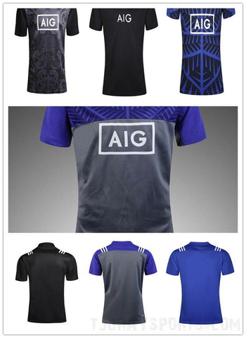 Men's rugby sports jersey