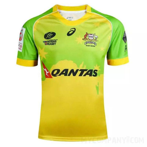 Australian Sevens Rugby Jersey - tjgraysports