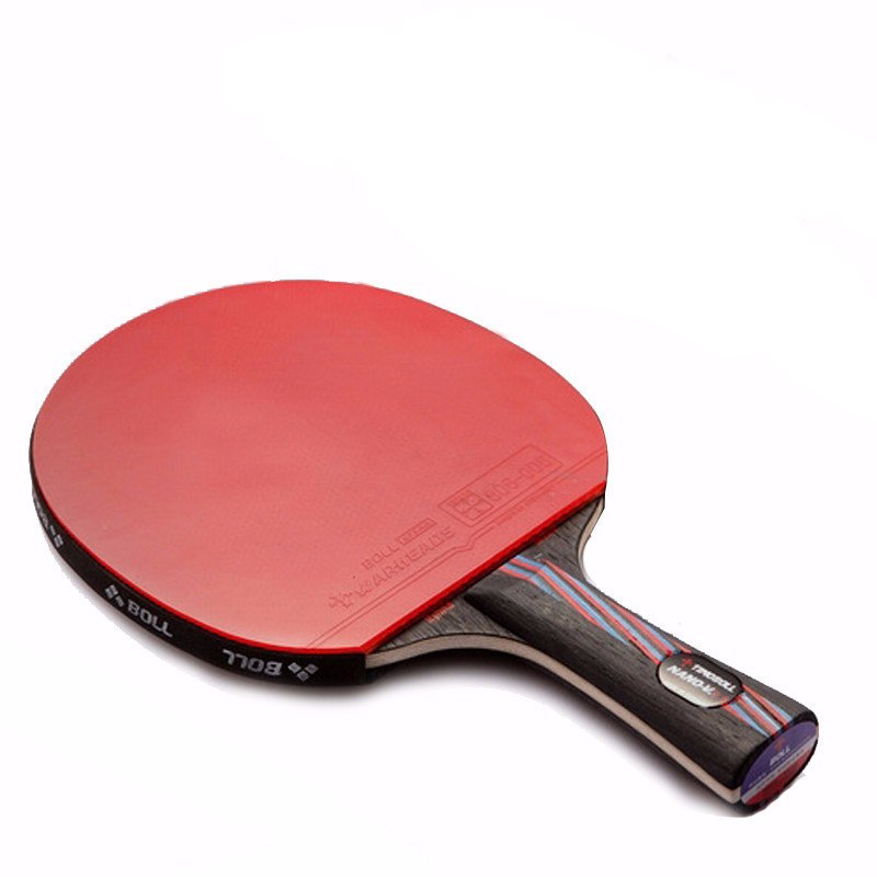 Rubber Basswood 9.8 Table Tennis Bat 1pc