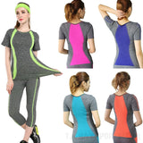 Women's Yoga / Gym T-Shirt,  Long Sleeve & Vest Style Sports Tops