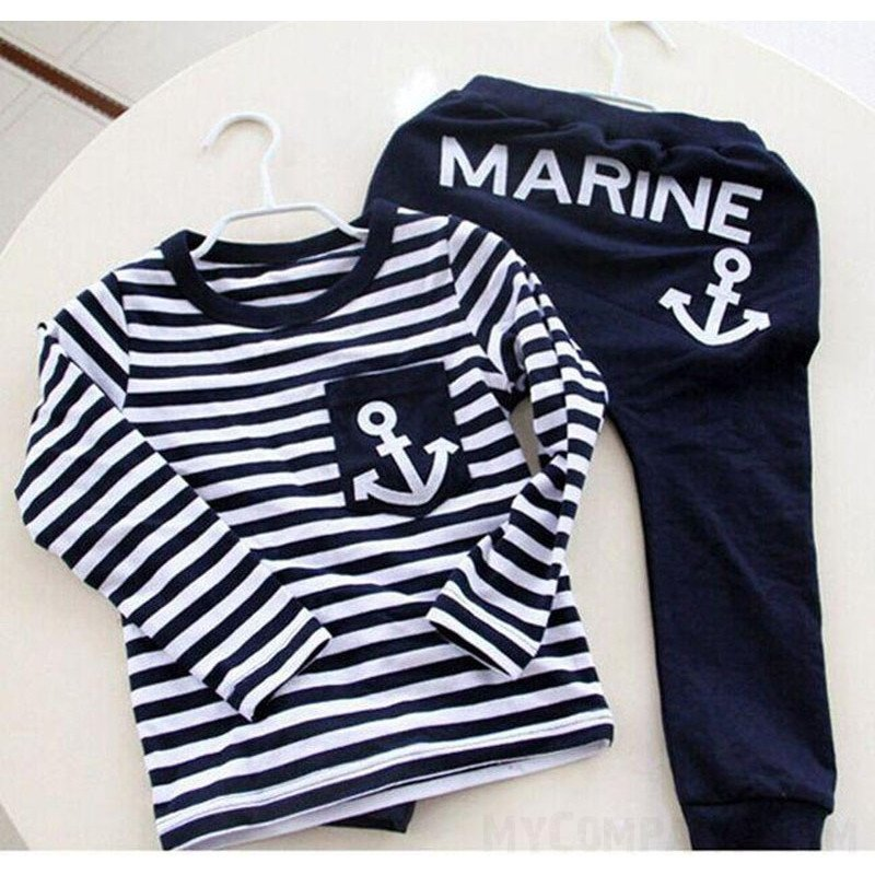Boys / Girls Navy Pullover Suit