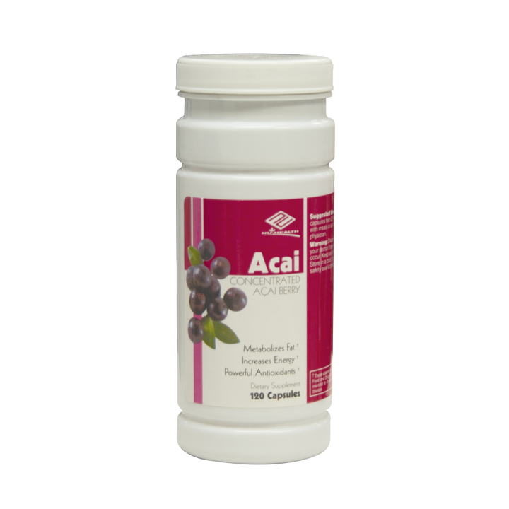Nu-Health Products Acai 120 Capsules