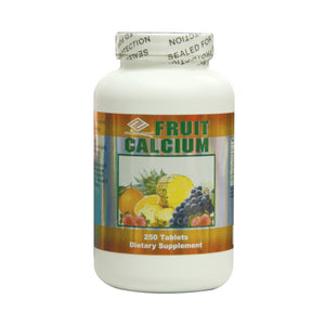 Fruit Calcium Assorted (Chewable 250 Tablets)