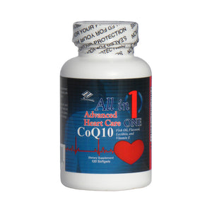 Nu-Health Products Advanced Heart Care (120 Softgels)