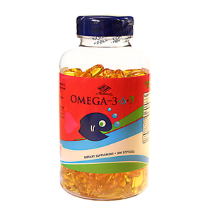Omega 3-6-9 (300 Softgels / 1,005 mg)
