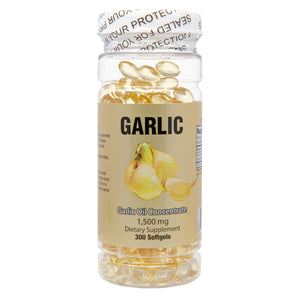 Garlic Oil (300 Softgels / 1,500 mg)
