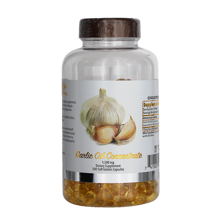 Garlic Oil (500 Softgels / 1,500 mg)
