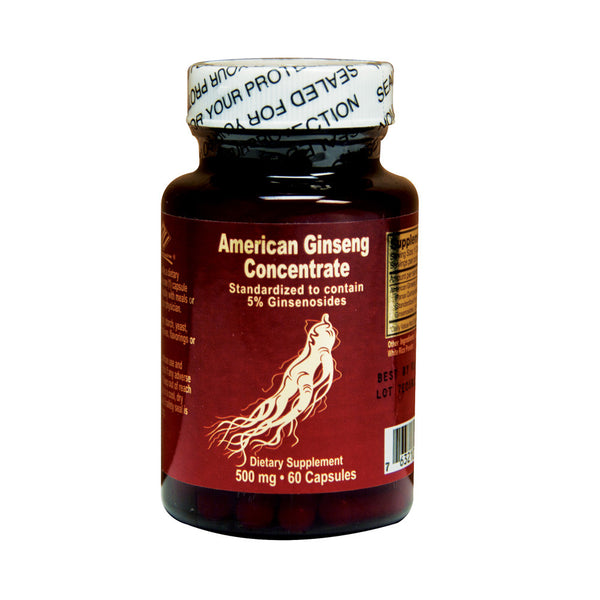 American Ginseng (60 Capsules)