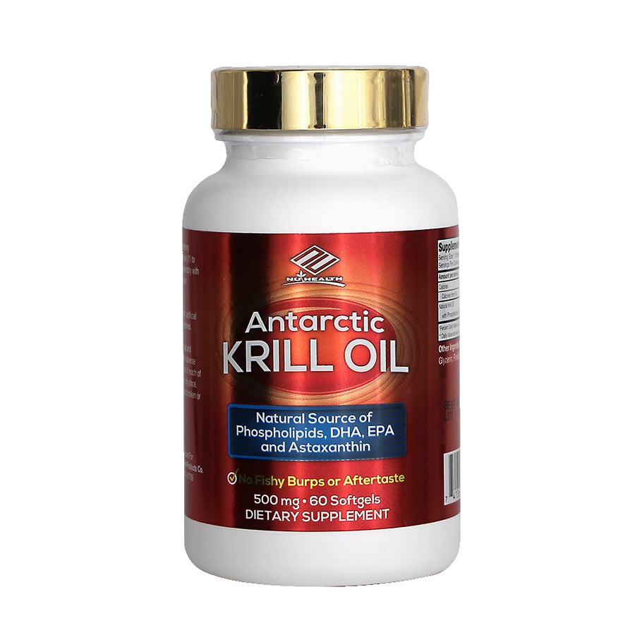 Antarctic Krill Oil (60 Softgels/ 500 mg)