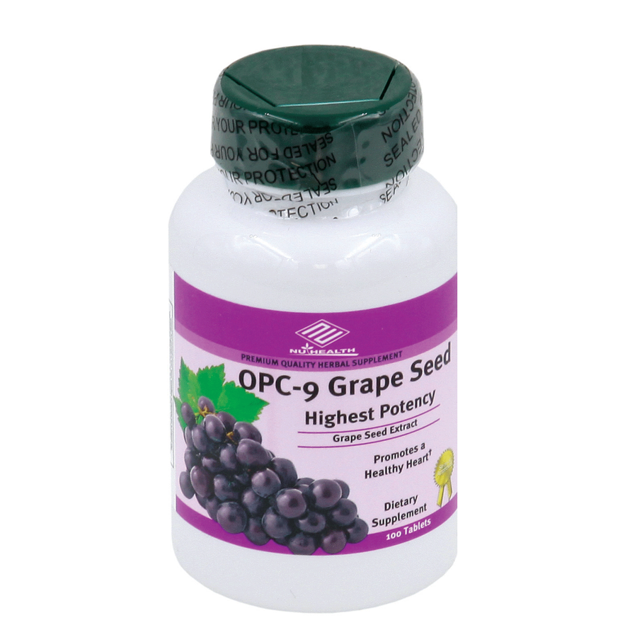 OPC Grape Seed Extract (100 Tablets/ 100 mg)