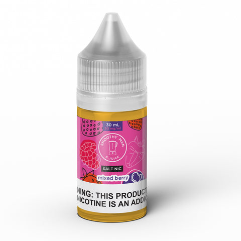 Smoothy Man: Mixed Berry Salt Nic 30ml