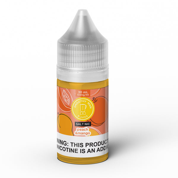 Smoothy Man: Peach Mango Salt Nic 30ml