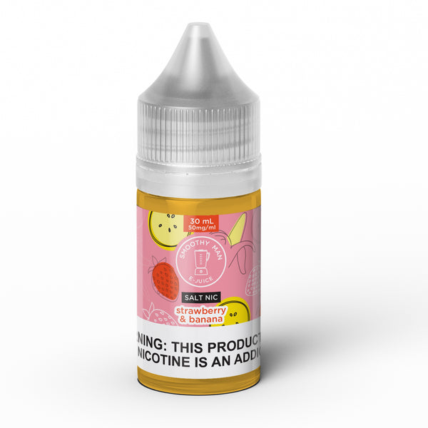 Smoothy Man: Strawberry Banana Salt Nic 30ml