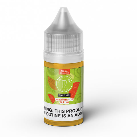 Smoothy Man: Watermelon Kiwi Salt Nic 30ml