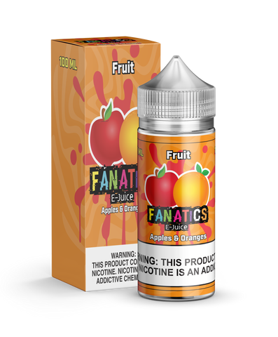 Fanatics E-Juice - Premium E-Liquid Vape - Apples and Oranges