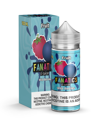 Fruit Fanatics 100ML: Wild Berries