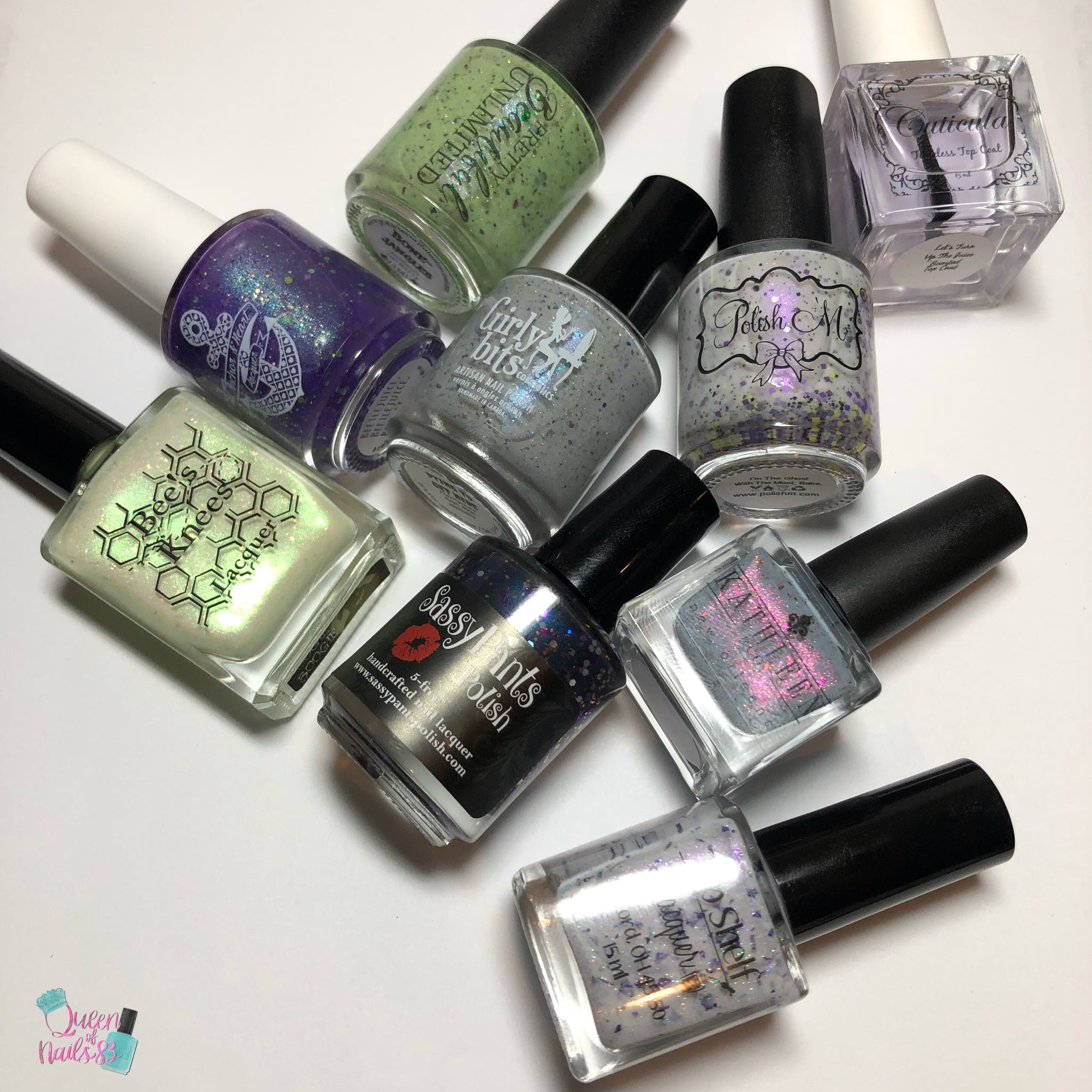 #crellycrate Bespoke Trios RE-visioned review by Queenofnails83