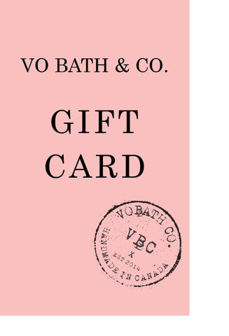 VO BATH & CO. GIFT CARD