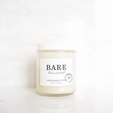 BARE LOTION BODY SCRUB