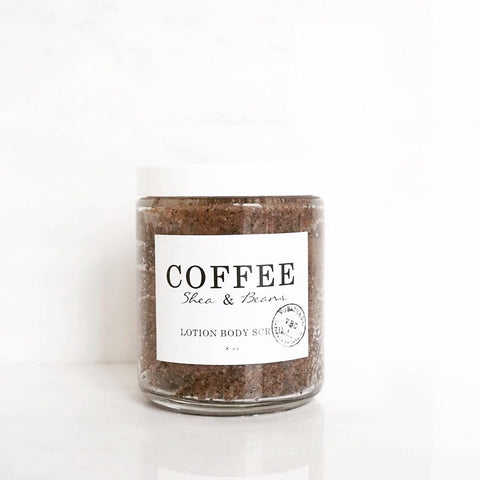 COFFEE LOTION BODY SCRUB