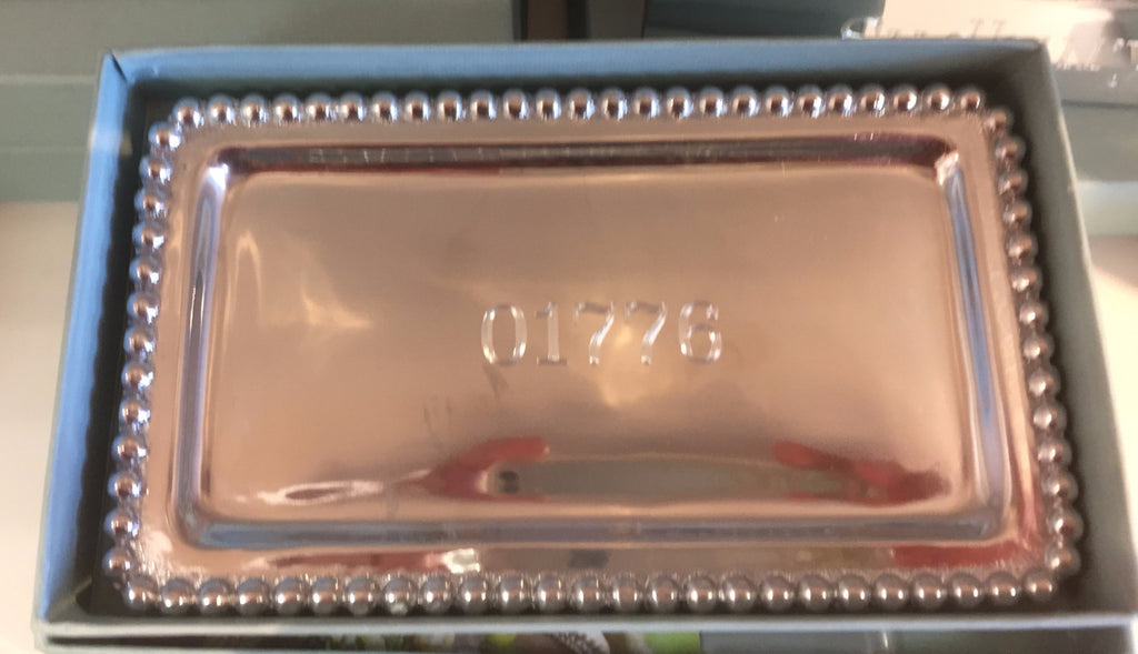 Custom Zip Code Mariposa Statement Tray