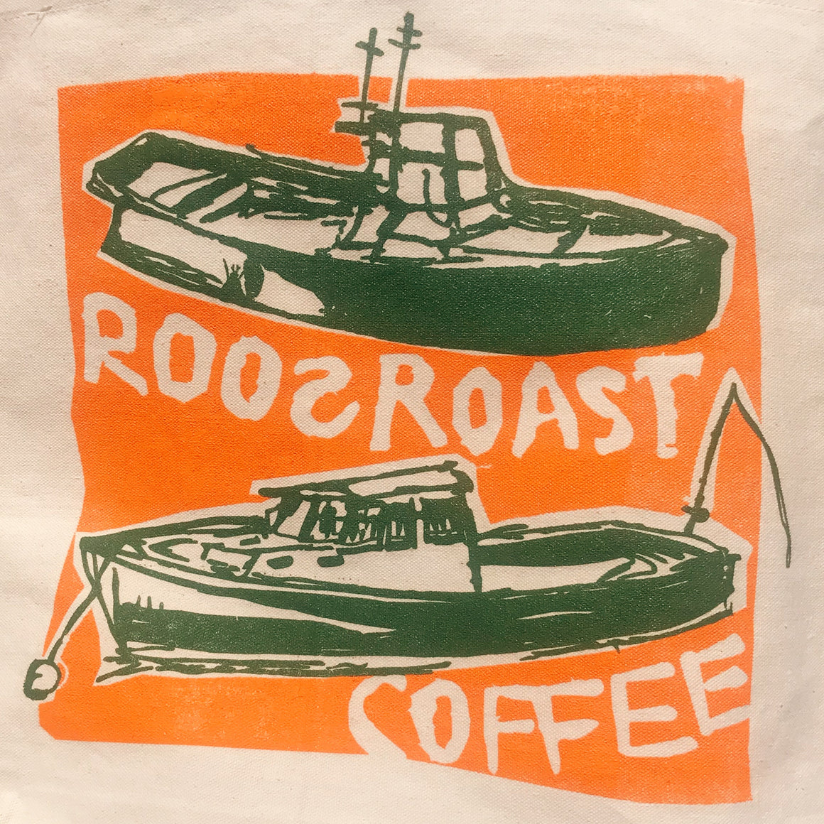RoosRoast Tote Bag