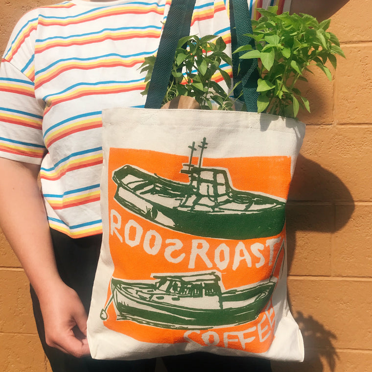 RoosRoast Coffee Tote bag