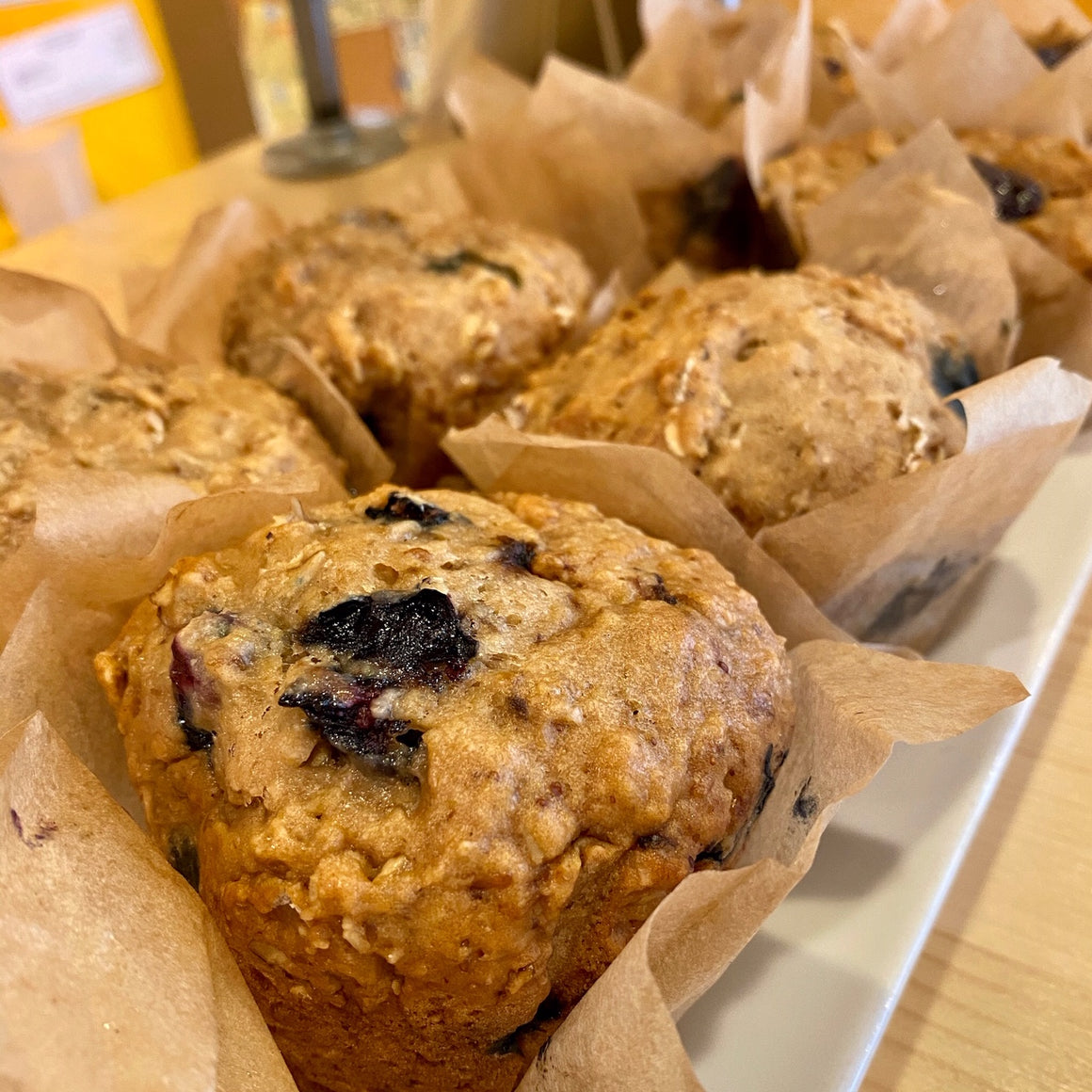 Why Not Pie Blueberry Oat Muffins *PICKUP ONLY*