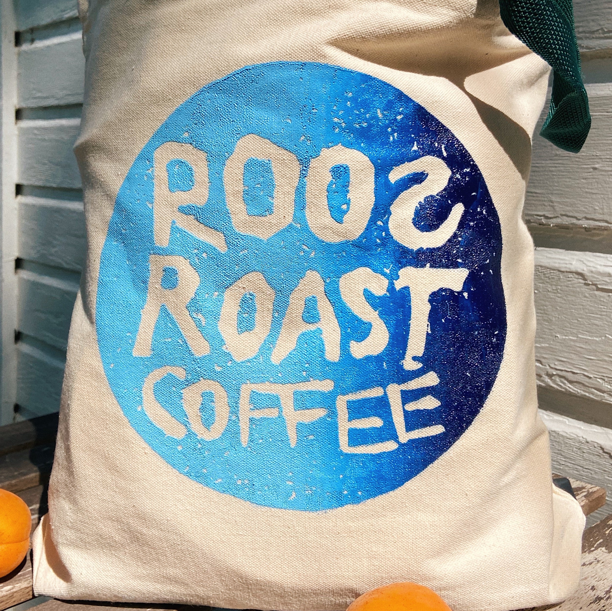 RoosRoast Logo Tote Bag