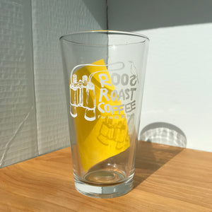 Roos Pint Glass