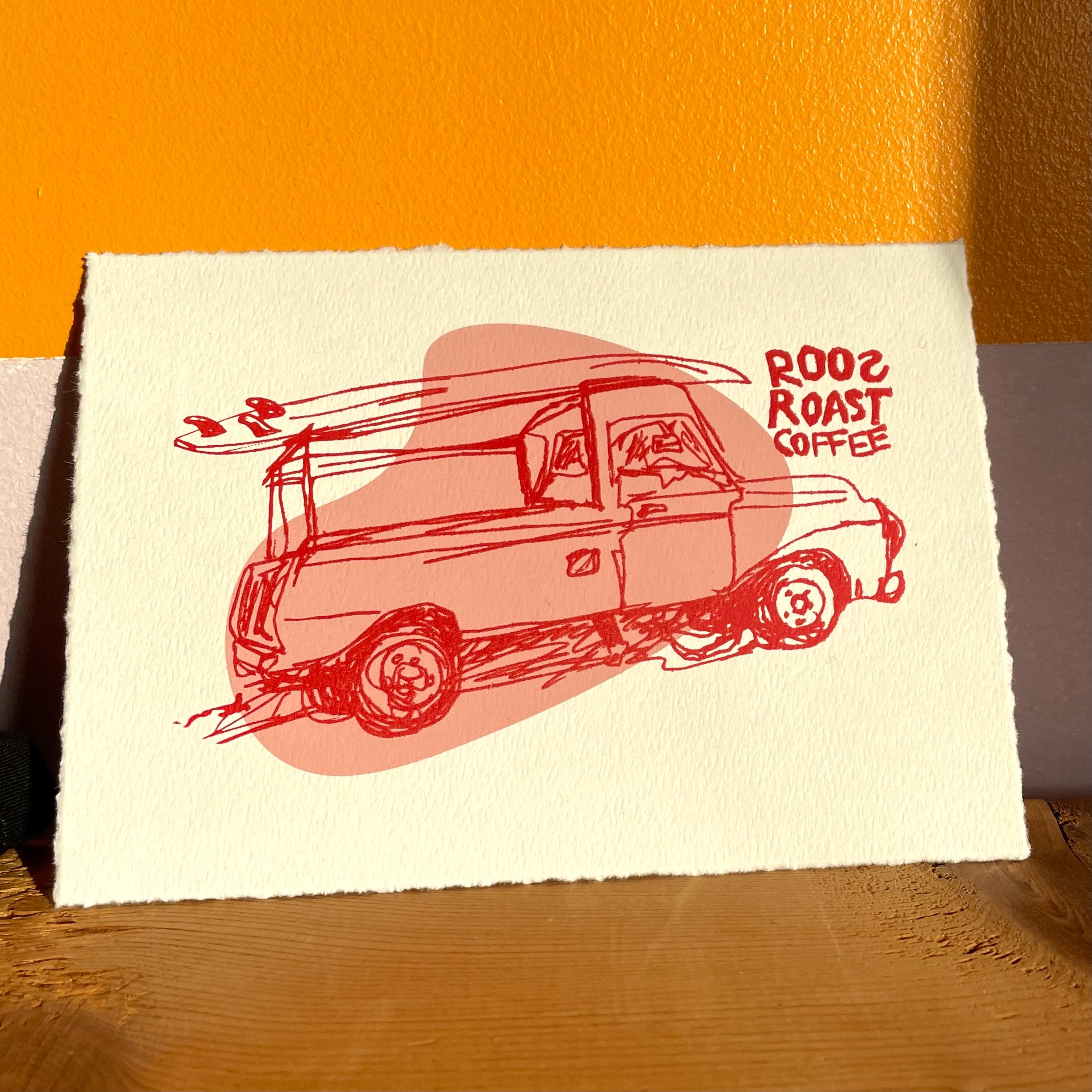 Surfer Truck Screen Prints