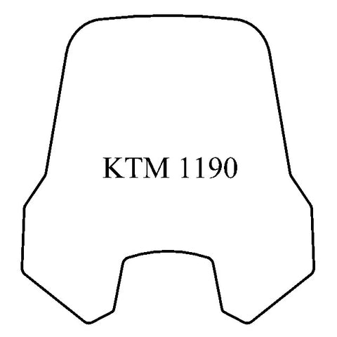 Windshield - KTM 1190
