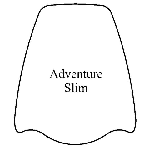 Adventure Slim Windshield - MadStad Engineering