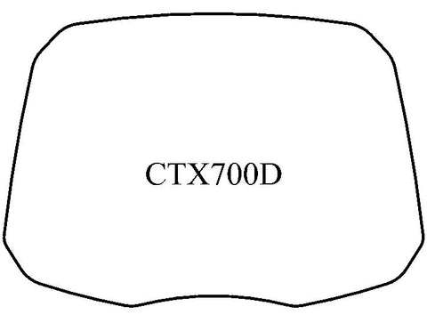 CTX700D Windshield - MadStad Engineering