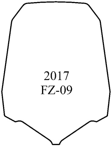 FZ-09 2017-Up Windshield - MadStad Engineering