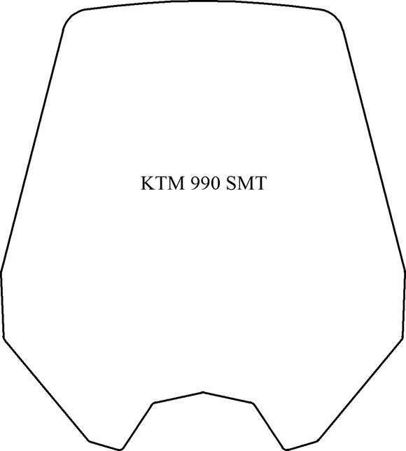 Windshield - KTM 990 SMT